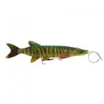Savage gear Line Thru Pike 48cm. Fire Tiger