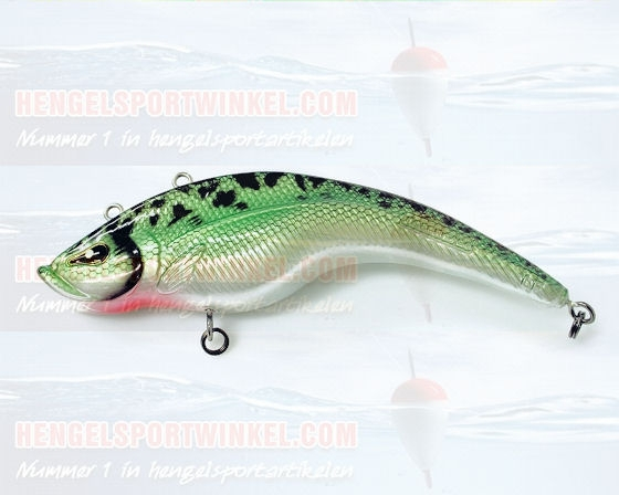 Rozemeijer Rattlin Hunchback Speckled Green Perch (SGP)