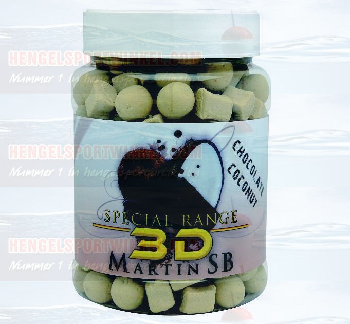 Special Range 3D Chocolate Coconut Boilies