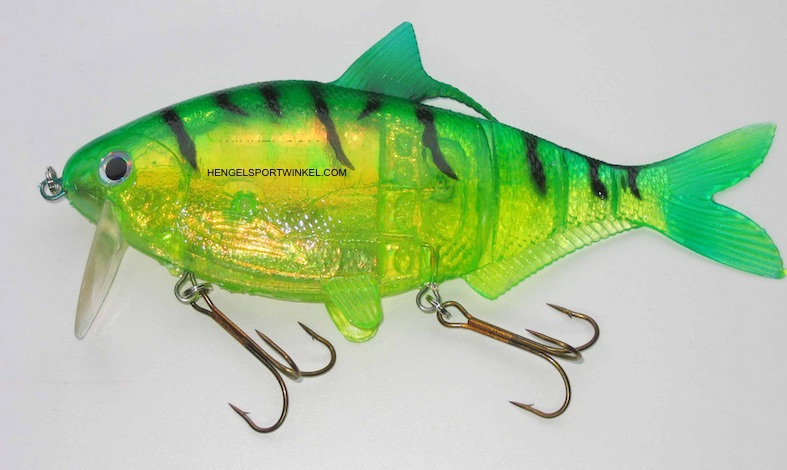 "Musky Innovations Shadclone 10"" Firetiger"