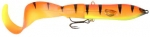 3D Hard Eel Tail Bait 17 cm. Golden Ambulance