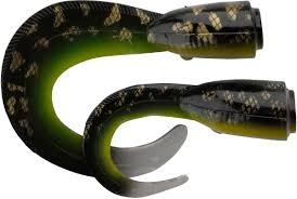 3D Hard Eel Spare Tail 17 cm. Burbout