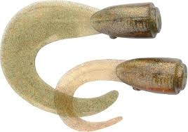 3D Hard Eel Spare Tail 17 cm. Motor Oil