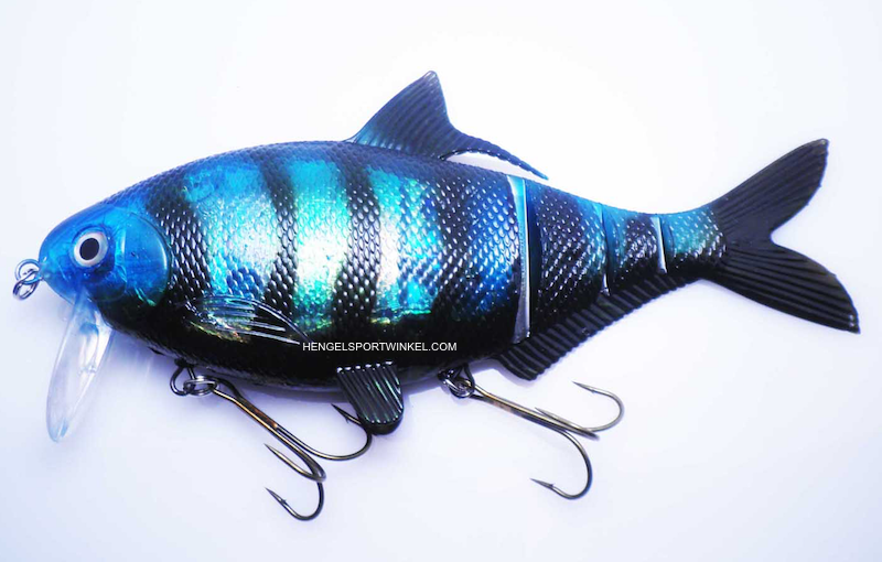 "Musky Innovations Shadclone 10"" Blue Shiner C-Bra"