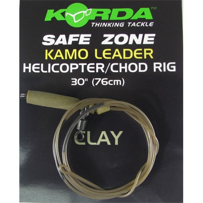 Korda Kamo Leader Helicopter/Chod Rig  Clay
