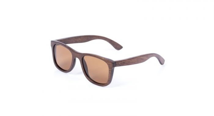 Nash Bamboo Sunglasses Grey Lens