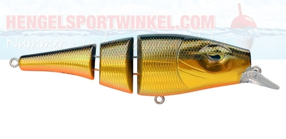 Pike Fighter Triple Jointed Jr. Golden Flash
