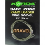 Korda Kamo Leader Ring Swivel  Gravel  ( safe zone )