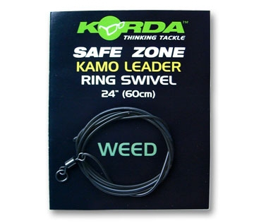 Korda Kamo Leader Ring Swivel  Weed  ( safe zone )