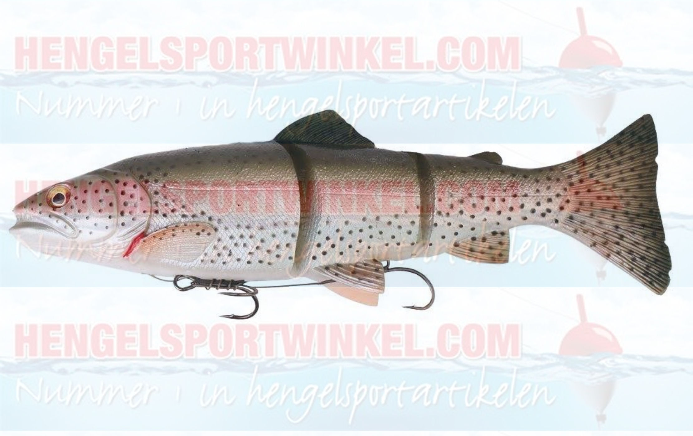 Savage Gear 3D Line Thru Trout 20 cm. Rainbow