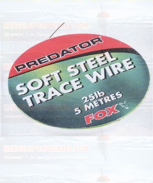Fox Soft Steel Trace Wire