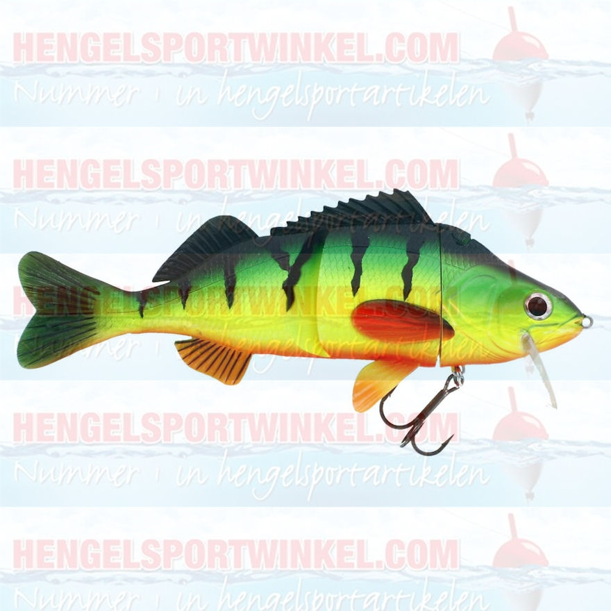 Percy the Perch 200mm. Grazy Firetiger